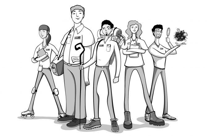 Leat I.T. Consulting hero team